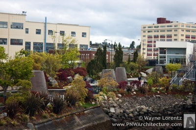 Harborside Fountain Park in Bremerton, Washington