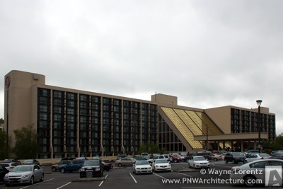 The Hilton Bellevue in Bellevue, Washington