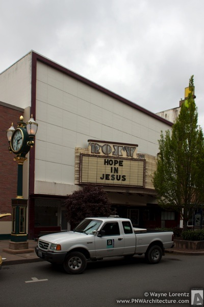 The Roxy Theater in Bremerton, Washington
