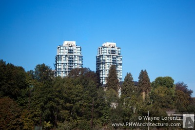 Photo of Victoria Hill Towers in New Westminster, British Columbia