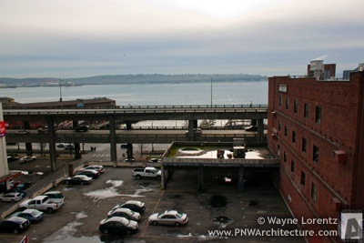 Alaskan Way Viaduct in Seattle, Washington