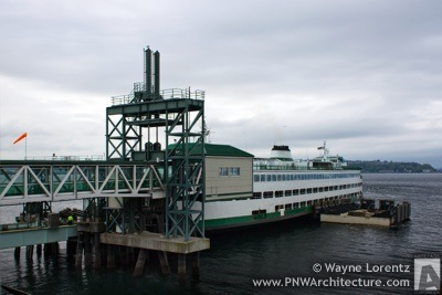 Seattle Ferry Terminal at Colman Dock in Seattle, Washington