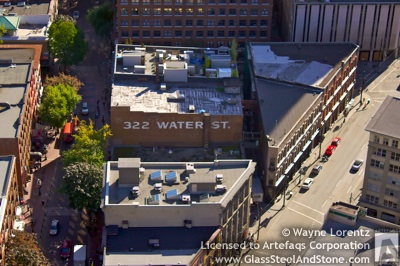 322 Water Street in Vancouver, British Columbia