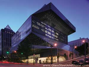 Seattle Central Library in Seattle, Washington