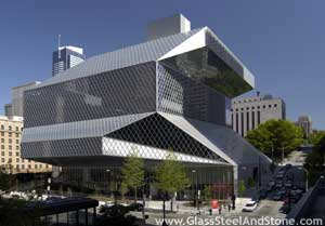 Photo of Seattle Central Library in Seattle, Washington