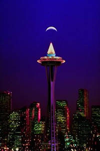 Photo of The Space Needle in Seattle, Washington