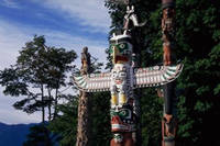 Photo of Stanley Park Totem Poles