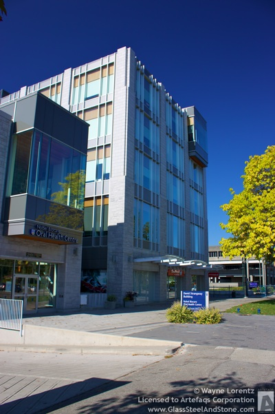 Photo of University of British Columbia David Strangway Building