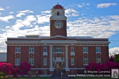 The Clallam County Courthouse in Port Angeles, Washington