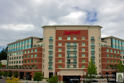 The Redmond Marriott Town Center in Redmond, Washington