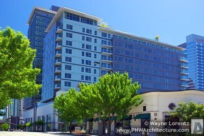 The Avalon Towers Bellevue in Bellevue, Washington