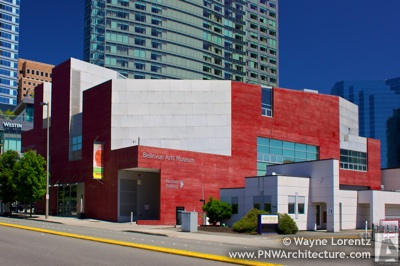 The Bellevue Arts Museum in Bellevue, Washington