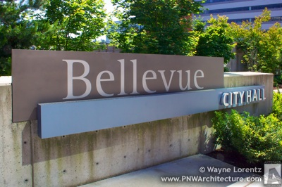 Bellevue City Hall in Bellevue, Washington