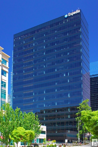 The Expedia Tower in Bellevue, Washington