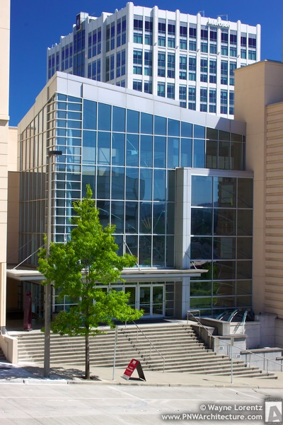 Photo of The Meydenbauer Center in Bellevue, Washington