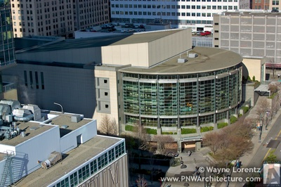 Benaroya Hall in Seattle, Washington