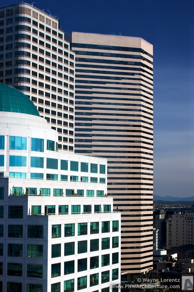 The Wells Fargo Center in Seattle, Washington