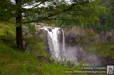 Snoqualmie Falls in Snoqualmie, Washington