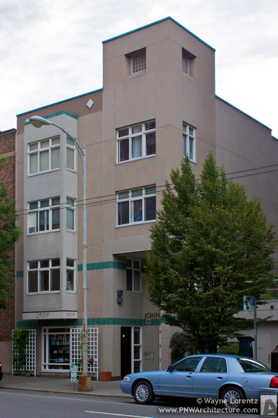 The John Carney Apartments in Seattle, Washington