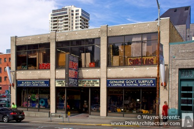 Federal Army and Navy Surplus Store in Seattle, Washington