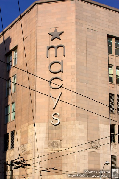 Macy's Downtown Seattle in Seattle, Washington
