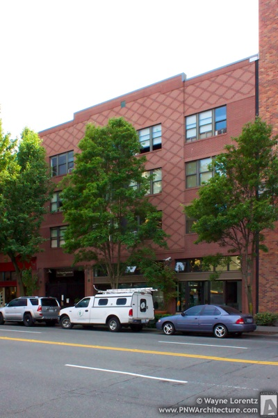 The Oregon Apartments in Seattle, Washington