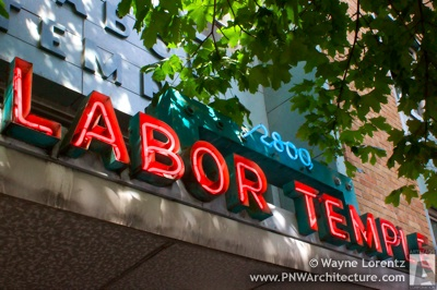 Photo of Seattle Labor Temple
