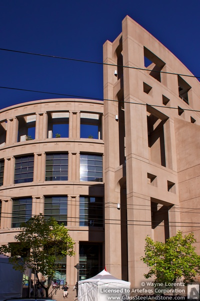 Photo of Vancouver Public Library in Vancouver, British Columbia